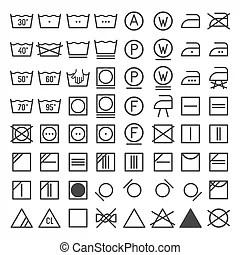 Wasserij, was, pictogram.