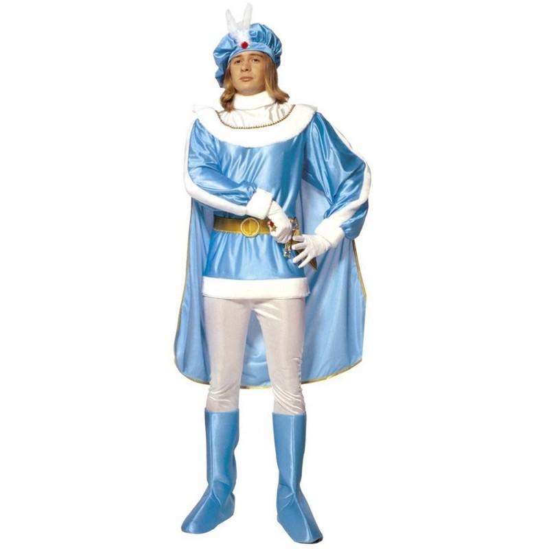 Adliger Blauer Prinz Mittelalter Kostm