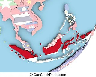 19 pngs about peta indonesia. Map Of Indonesia With Flag Indonesia On Political Globe With Embedded Flags 3d Illustration Canstock