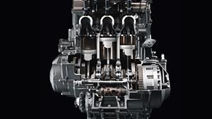 Kompakt ve hafif 850 cc 3 silindirli motor