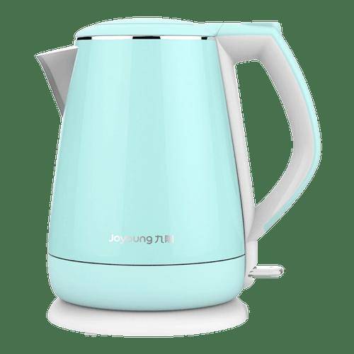 kitchen aid electric kettle island granite top joyoung九阳公主系列双层不锈钢电热水壶 粉蓝色1 5l k15 f023m 沈梦辰