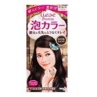 KAO LIESE PRETTIA Bubble Hair Dye Classic Chocolate 1set ...