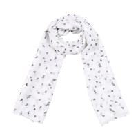 SCARVES : Yehwang Accessories, Scarf Smashing Hearts