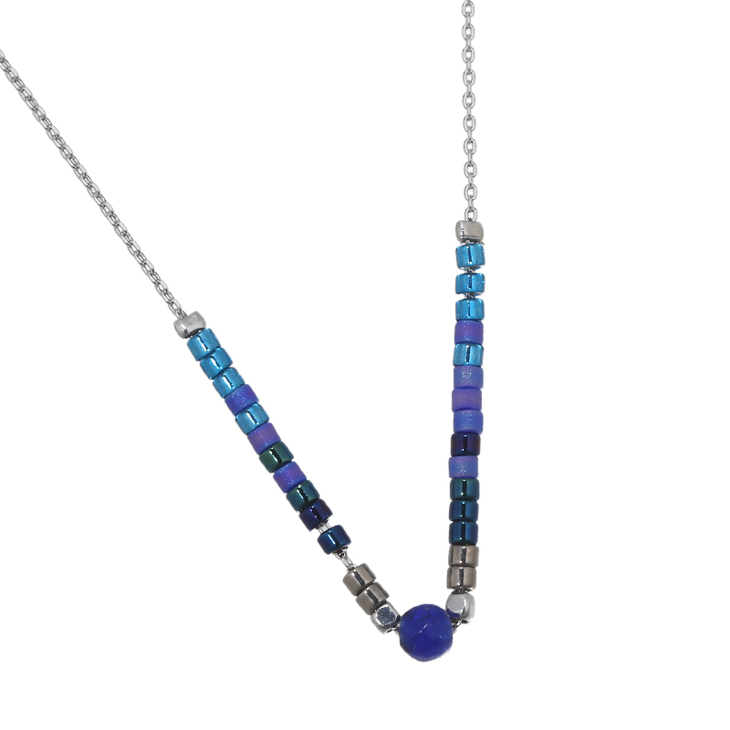 NECKLACES : Yehwang Accessories, Necklace Pretty Beads Stone
