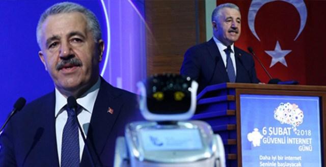 Bakan Ahmet Arslan'ı uyaran robot, yeniden programlandı
