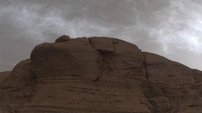 Mars'ta garip bulutlar görüntülendi 15