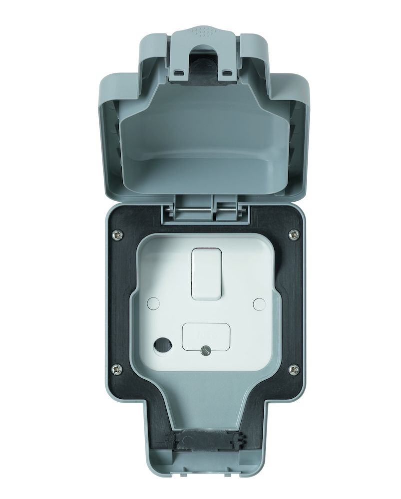 Masterseal Plus 13A IP66 1 Gang DP Switched Fused Spur