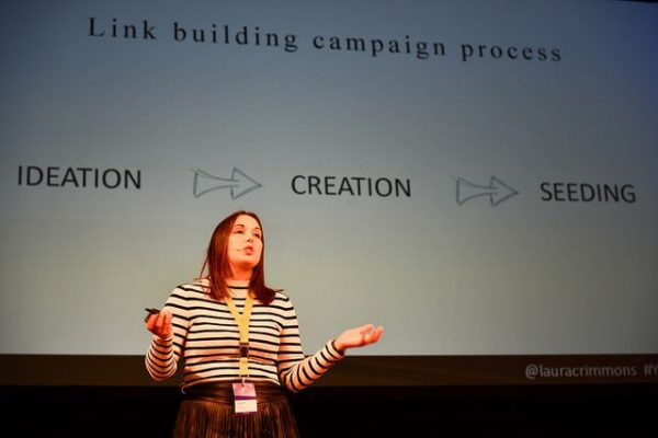 laura crimmons at yoastcon