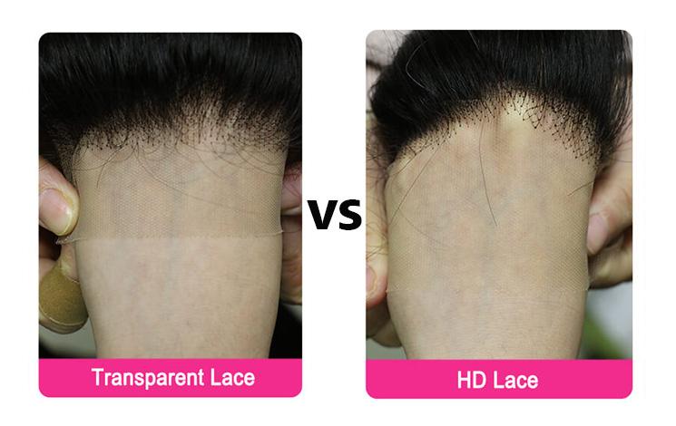 Transparent Lace Wig VS HD Lace Wig