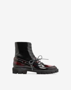 Maison Margiela Ankle Boots Maroon