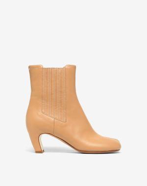 Maison Margiela Tabi Boots & Ankle Boots Camel
