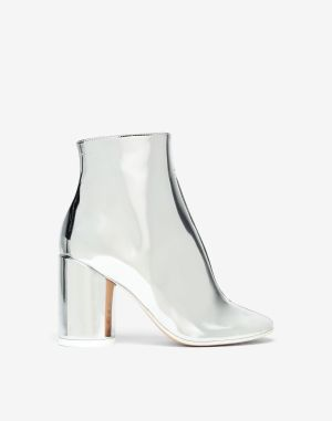 Mm6 By Maison Margiela Boots Silver