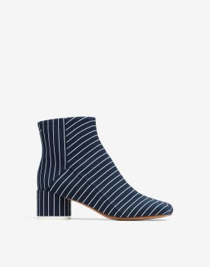 Mm6 By Maison Margiela Ankle Boots Dark Blue