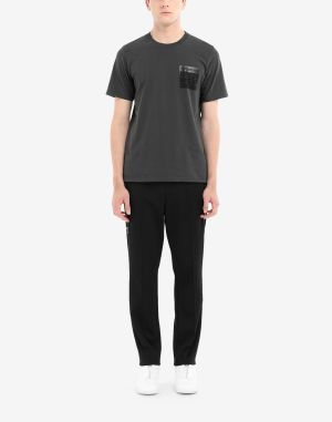 Maison Margiela Short Sleeve T-shirt Steel Grey