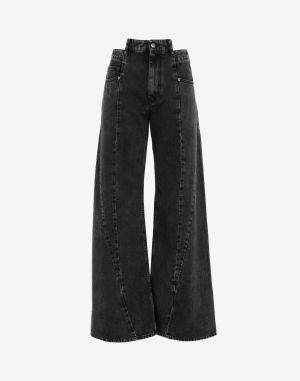Maison Margiela Jeans Black Cotton
