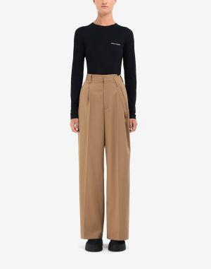 Mm6 By Maison Margiela Casual Pants Camel