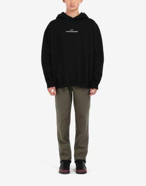 Maison Margiela Hooded Sweatshirt Black