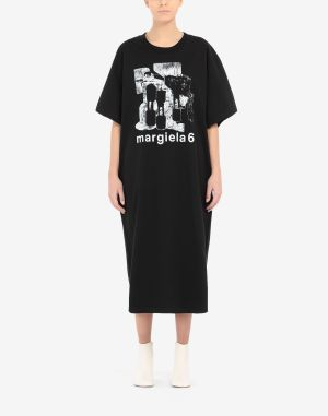 Mm6 By Maison Margiela Dress Black