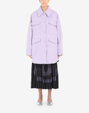 Mm6 By Maison Margiela Coats And Trenches Lilac