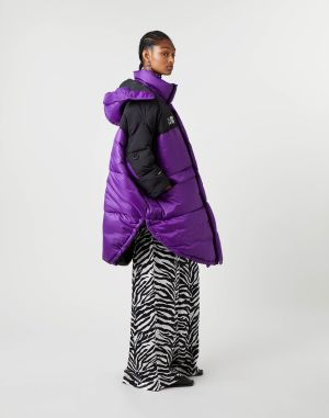 Mm6 By Maison Margiela Coats And Trenches Purple