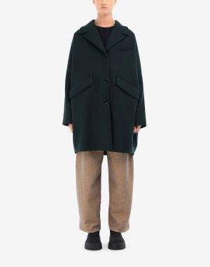 Mm6 By Maison Margiela Coats And Trenches Dark Green