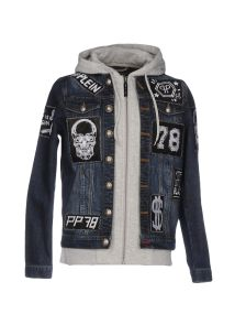 PHILIPP PLEIN DENIM Denim τζάκετ