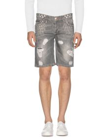 PHILIPP PLEIN DENIM Denim βερμούδες