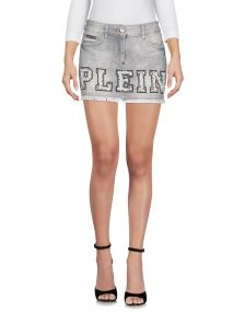 PHILIPP PLEIN DENIM Denim φούστα