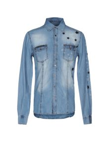 PHILIPP PLEIN DENIM Πουκάμισο denim