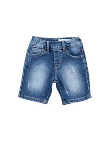 SILVIAN HEACH KIDS DENIM Denim βερμούδες