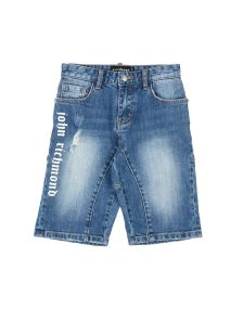 JOHN RICHMOND DENIM Denim βερμούδες