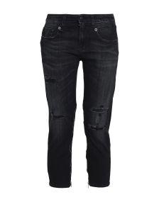 R13 DENIM Denim παντελόνια κάπρι