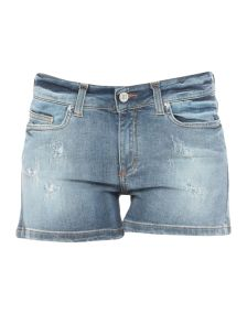 .8! POINT HUIT DENIM Denim σορτς