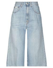 (+) PEOPLE DENIM Denim παντελόνια κάπρι