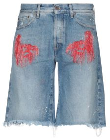 OFF-WHITE™ DENIM Denim βερμούδες