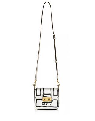 Mini Jiji By Lanvin Bag In Smooth Printed Calfskin