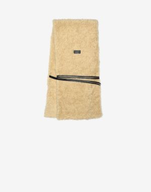 Mm6 By Maison Margiela Scarves And Stoles Beige