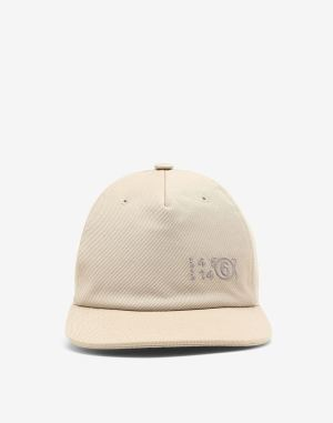 Mm6 By Maison Margiela Hats And Caps Beige