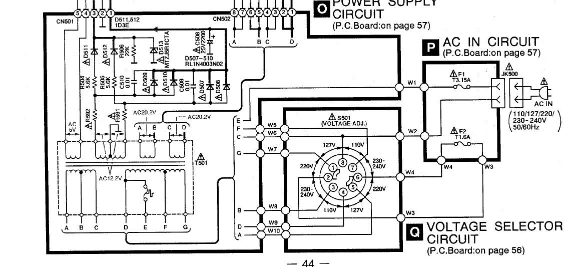 Panasonic sa-ak50- sin salida de audio en parlantes