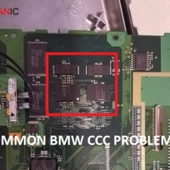 Bmw E60 Ccc Wiring Diagram Double Switch Outlet Idrive Nav Problems Due To Cic Failure Problem Chip