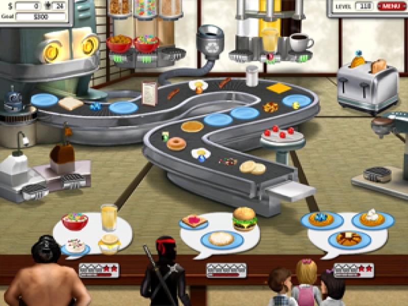 Burger Restaurant 3 Games Free Online
