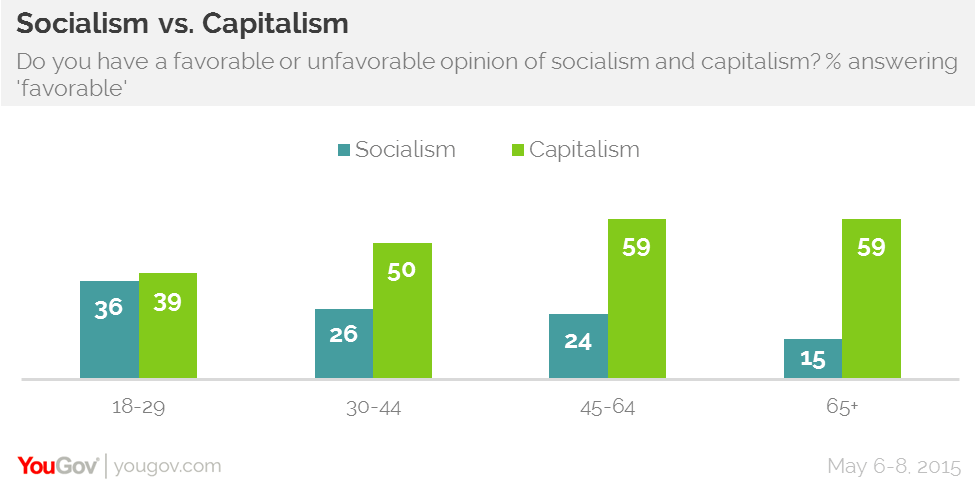 Image result for millennials socialism