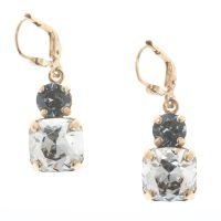 Catherine Popesco Double Crystal Combo Earrings - Assorted ...