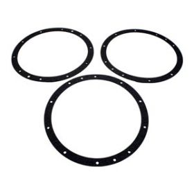 Pentair 79200400 Gaskets for 10 Hole Steel Light Niches on