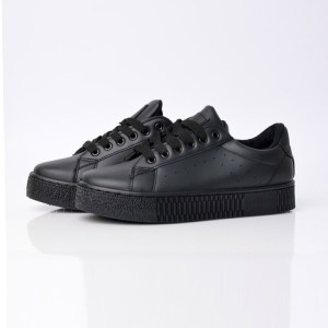 Γυναικεία παπούτσια sneakers μαύρα