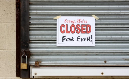 Image result for closed store