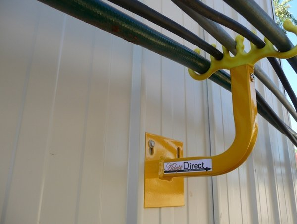 Wall Mounted Hose Hanger Adept Direct Cable Handling