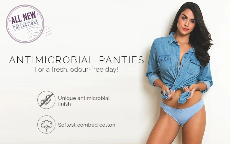 Antimicrobial panties also buy ladies underwear  for women online zivame rh