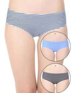 Buy zivame printed cotton full coverage panties pack of blue grey at rs online also rh