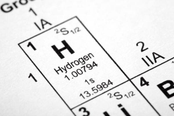 At a few million atmospheric pressures, Hydrogen nears